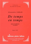 PARTITION DE TEMPS EN TEMPS (TROMBONE)