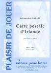 PARTITION CARTE POSTALE D'IRLANDE (FLÛTE)