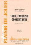 PARTITION 1900, FANTAISIE CONCERTANTE