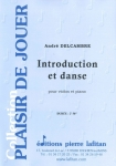 PARTITION INTRODUCTION ET DANSE (VIOLON)