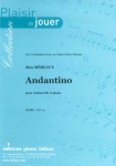PARTITION ANDANTINO (VIOLONCELLE)