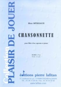 PARTITION CHANSONNETTE (FLUTE A BEC)
