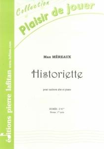 PARTITION HISTORIETTE (SAXHORN ALTO)