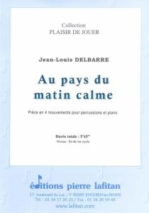 PARTITION AU PAYS DU MATIN CALME