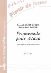 PARTITION PROMENADE POUR ALICIA (TROMPETTE)