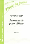 PARTITION PROMENADE POUR ALICIA (CLARINETTE)