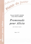 PARTITION PROMENADE POUR ALICIA (BASSON)