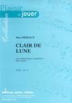 PARTITION CLAIR DE LUNE (SAXHORN BASSE)