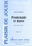 PARTITION PROMENADE ET DANSE (FLÛTE)
