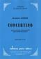 PARTITION CONCERTINO (VIOLON)