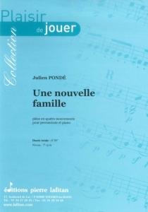 PARTITION UNE NOUVELLE FAMILLE