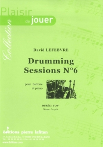 PARTITION DRUMMING SESSIONS N°6