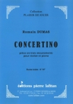 PARTITION CONCERTINO (VIOLON)