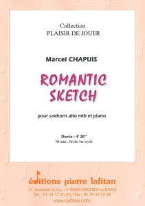 PARTITION ROMANTIC SKETCH (SAXHORN ALTO)