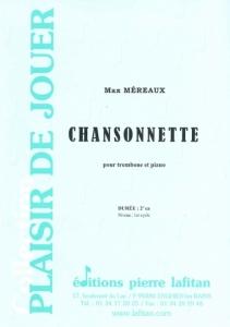 PARTITION CHANSONNETTE (TROMBONE)