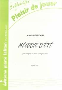 PARTITION MÉLODIE D'ÉTÉ