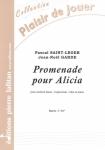 PARTITION PROMENADE POUR ALICIA (SAXHORN BASSE)