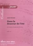 PARTITION DANS LA DOUCEUR DE L'ÉTÉ (TROMPETTE Mib)