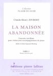 PARTITION LA MAISON ABANDONNÉE