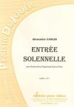 PARTITION ENTRÉE SOLENNELLE (SAXHORN BASSE)