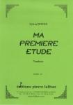 PARTITION MA PREMIЀRE ÉTUDE (S. DOYEN, TAMBOUR)