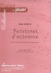 PARTITION PEINTURES D'AUTOMNE (VIOLON)