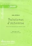 PARTITION PEINTURES D'AUTOMNE (CLARINETTE)