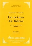 PARTITION LE RETOUR DU HÉROS (COR D'HARMONIE)