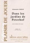 PARTITION DANS LES JARDINS DE PETERHOF (SAXOPHONE Sib)