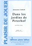 PARTITION DANS LES JARDINS DE PETERHOF (FLÛTE)
