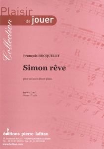 PARTITION SIMON RÊVE (SAXHORN ALTO)