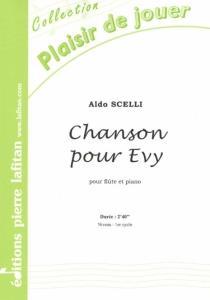 PARTITION CHANSON POUR EVY