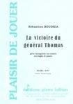 PARTITION LA VICTOIRE DU GÉNÉRAL THOMAS