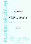 PARTITION CHANSONNETTE (SAXHORN BASSE)