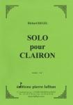 PARTITION SOLO POUR CLAIRON