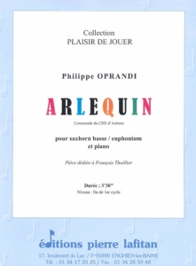 PARTITION ARLEQUIN (SAXHORN BASSE)