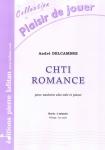 PARTITION CHTI ROMANCE (SAXHORN ALTO)