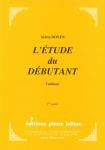 PARTITION L'ÉTUDE DU DÉBUTANT