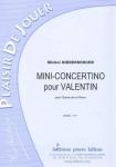 PARTITION MINI-CONCERTINO POUR VALENTIN