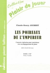 PARTITION LES POIREAUX DE L'EMPEREUR