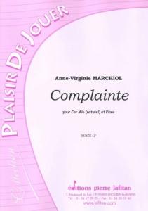 PARTITION COMPLAINTE (COR Mib)