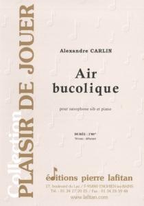 PARTITION AIR BUCOLIQUE (SAXOPHONE Sib)