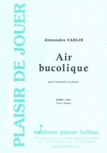 PARTITION AIR BUCOLIQUE (HAUTBOIS)
