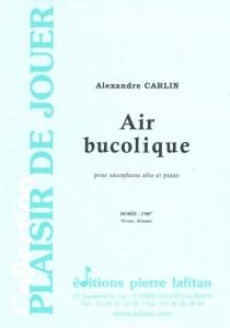 PARTITION AIR BUCOLIQUE (SAX ALTO)
