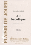 PARTITION AIR BUCOLIQUE (SAXOPHONE Sib)