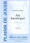 PARTITION AIR BUCOLIQUE (FLÛTE)