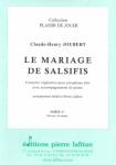 PARTITION LE MARIAGE DE SALSIFIS