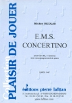 PARTITION E.M.S. CONCERTINO (COR NATUREL, 3 VERSIONS)