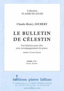 PARTITION LE BULLETIN DE CÉLESTIN