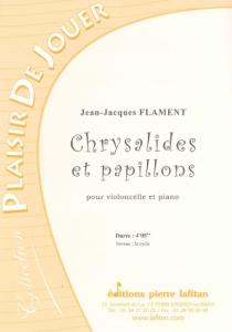 PARTITION CHRYSALIDES ET PAPILLONS (VIOLONCELLE)